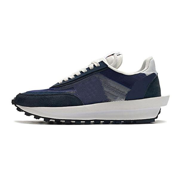 #19 Blue White