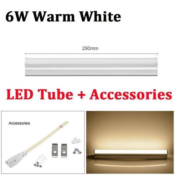6W blanco cálido