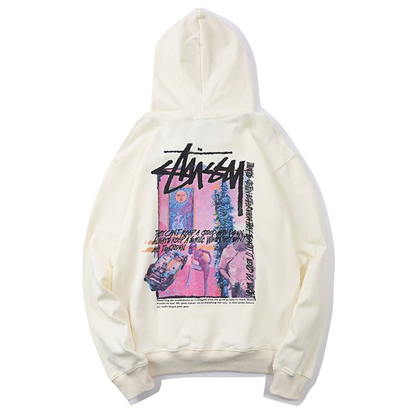 best selling 2020 Brand stussy Hoodies Sweatshirts Sweater Fashion Women Men'sHigh Quality Sweater Pullover Long Sleeve autumn Letter Size M-XXL