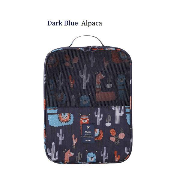 Alpaca azul escuro
