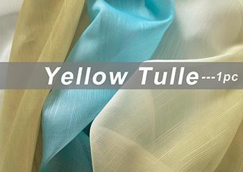 Yellow Tulle