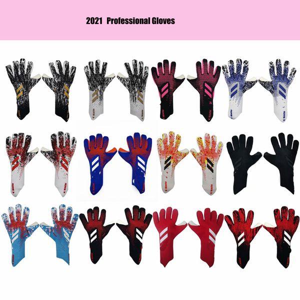 best selling 2021 new size 8 9 10 professional Goalkeeper Soccer Goalie gloves Football Anti-slip Gloves Sports Gloves