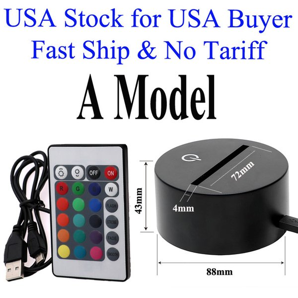 USA Stock 3D Base A Model