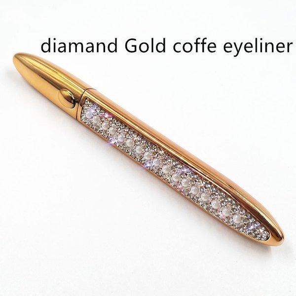 다이아몬드 골드 커피 아이 라이너