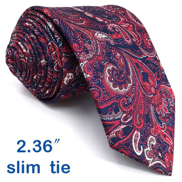 Cravate taille maigre