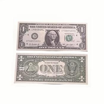 1 Dólar 100pcs