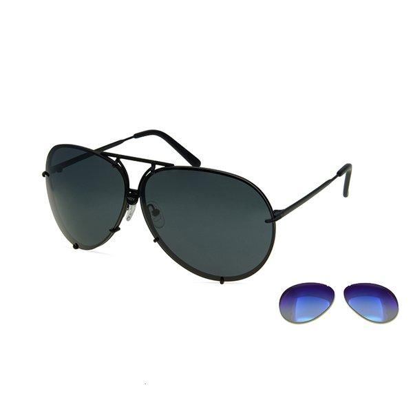 Negro Azul Espejo