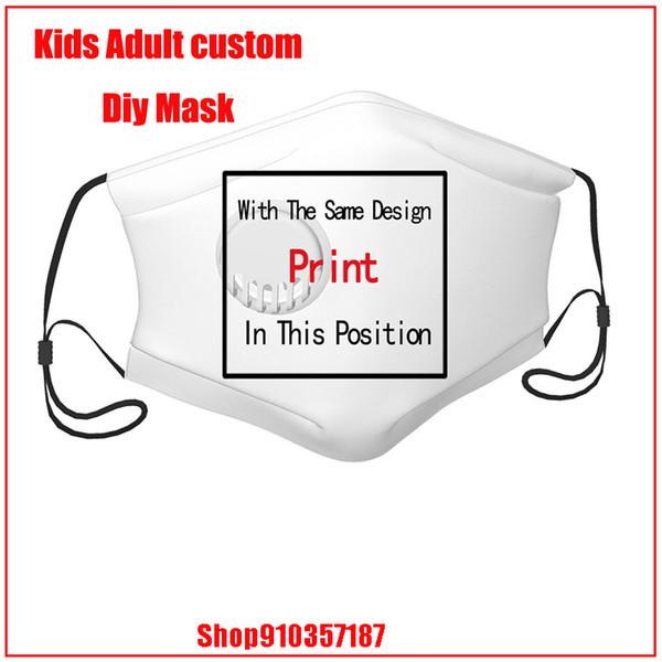 Bir valf Çocuk ile maske