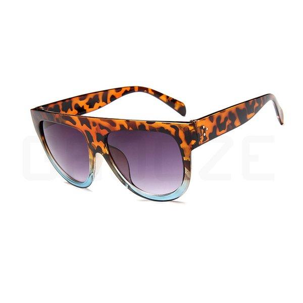 Leopard Blue Purple