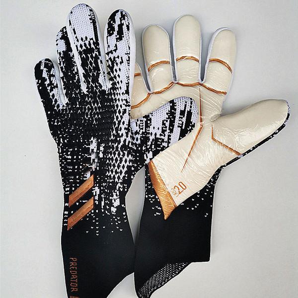 best selling Top Goalkeeper Gloves AD Retro Falcons Predator Pro Fingersave Professional Soccer Gloves Anti-slip Football Gloves Bola De Futebol Goal