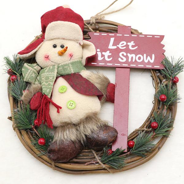 Biancheria di marca del pupazzo di neve
