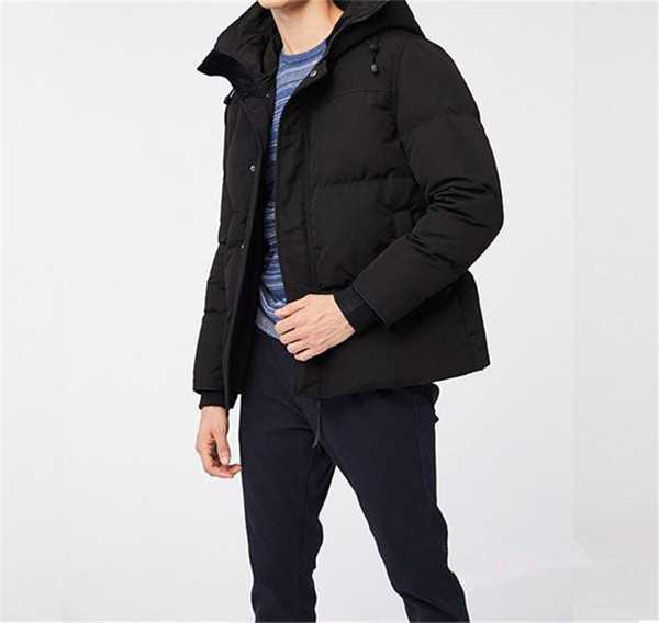 top popular 2020 New Style Joker Hot Sale Down Coat Canadian Casual Handsome Fashion Business Goose Down Warm Winter Jacket For Man 2021