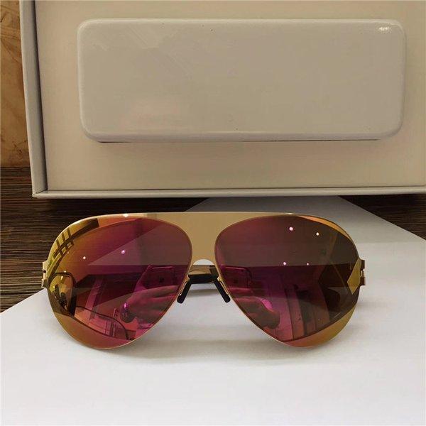 COL.8 lente oro / púrpura
