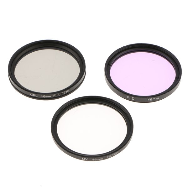 best selling UV CPL FLD Professional Lens Filter Kit and Carry Pouch for DSLR Camera Lenses 46mm 49mm 52mm 55mm 58mm 62mm 67mm 72mm 77mm 82mm 40.5mm