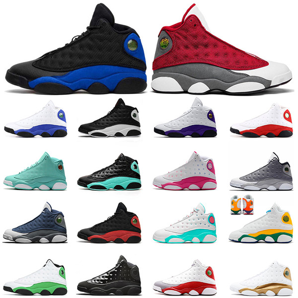 top popular Rod Flint 13 13s reverse he got game Mens Basketball Shoes satinjordanretro playground Jumpman trainers green bred womens sneakers 2021