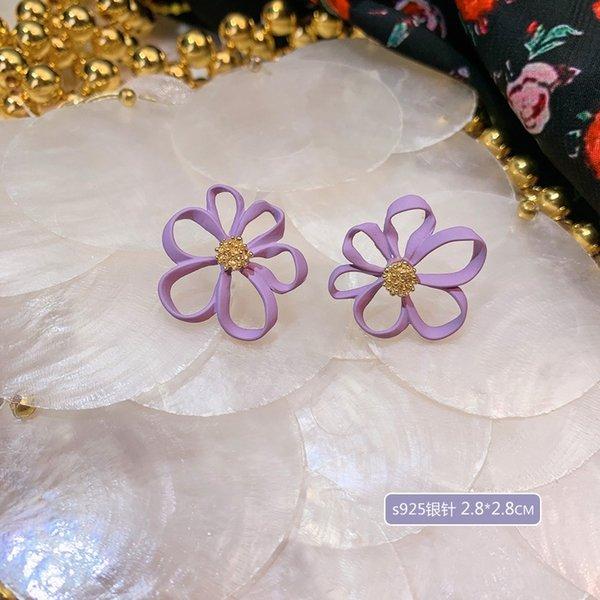 A4283 irregular Flor de la aguja de plata