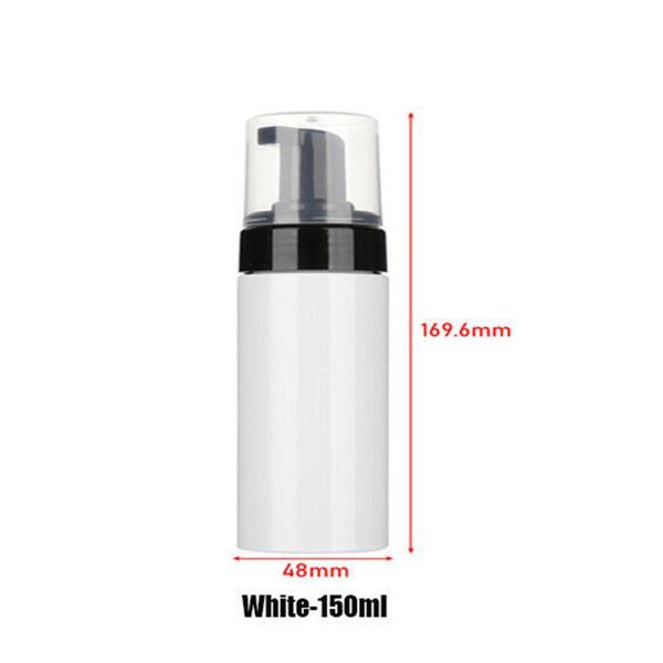 150ml di plastica bianca