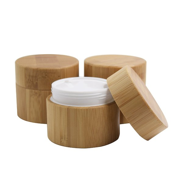 30мл бамбук банка (PP) Стекло
