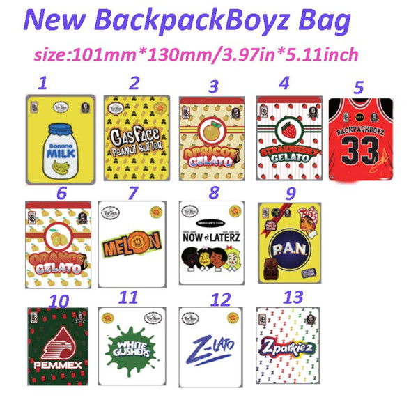 top popular Jokes up BACKPACKBOYZ 33 smell proof 420 packaging mylar bags runtz bags cookies 710 custom mylar bags 2020