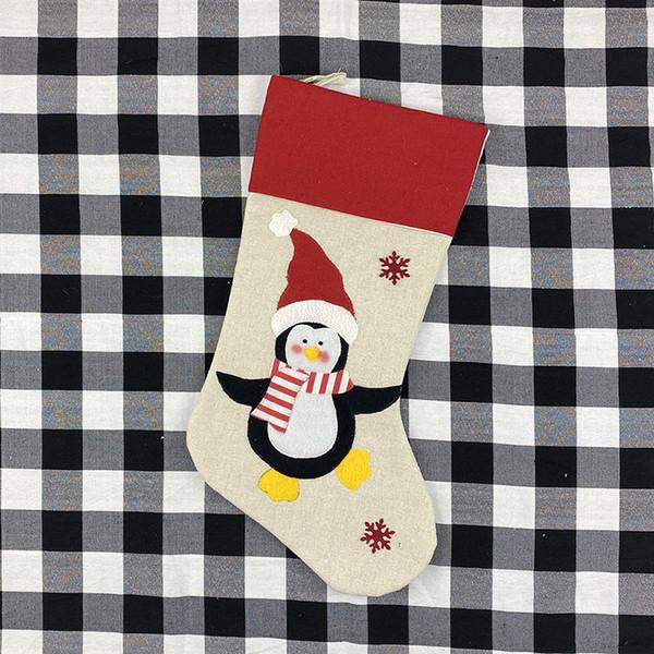 Рождество Пингвин