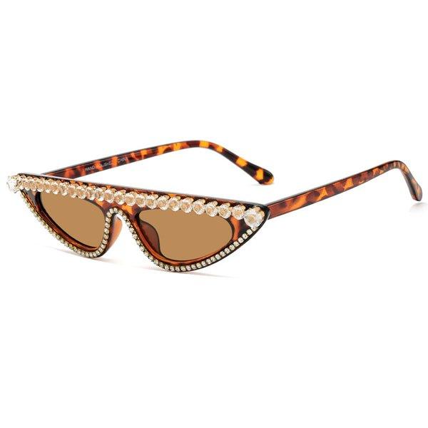 Леопардовый коричневый