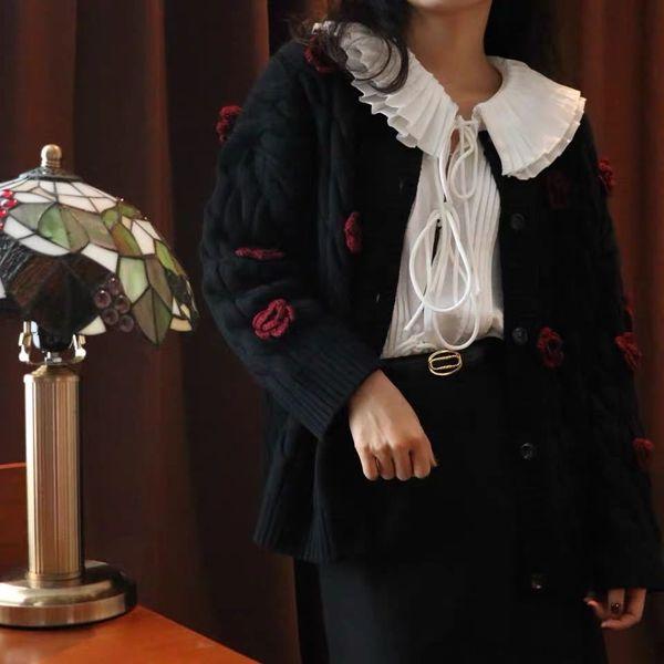 Black-cardigan
