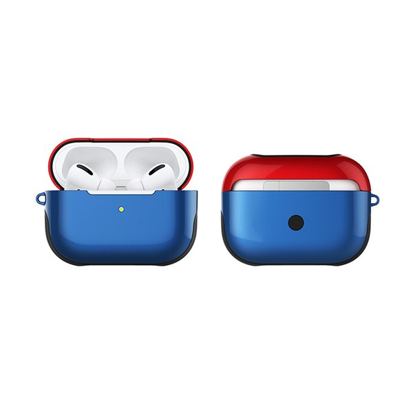 airpods pro protective sleeve fashion airpods 3 generation case wireless bluetooth headset anti-shock pure colour shell 10-color