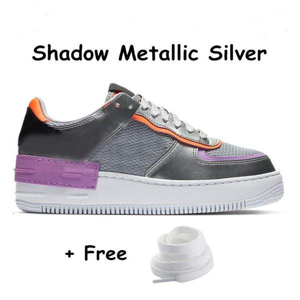 15 Gölge metalik gümüş 36-45