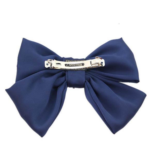 Navy Blue Spring clip