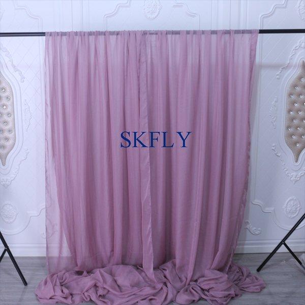 фиолетовый 4ft шириной 8 футов высоты