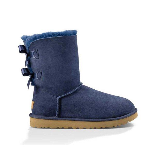 A6 Ankle 2 Bow - Blau