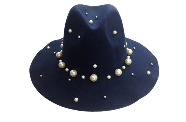Marine chapeaux trilby
