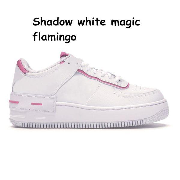 25 Shadow white magic flamingo