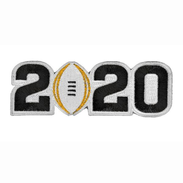 2020 Black Number Patch