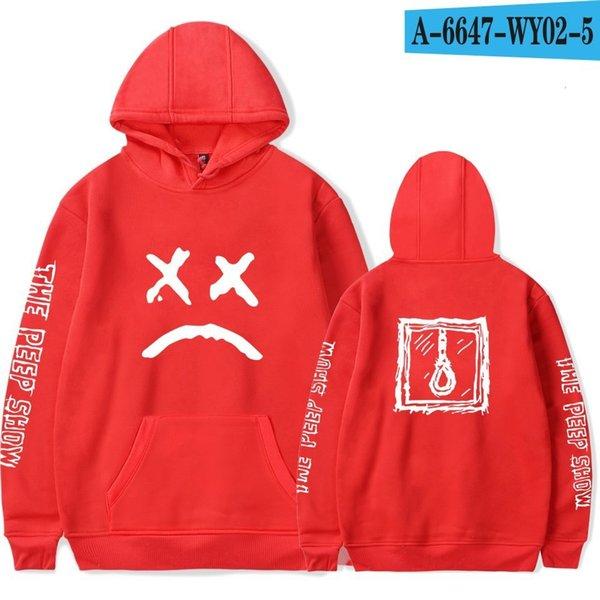 kırmızı Hoodie