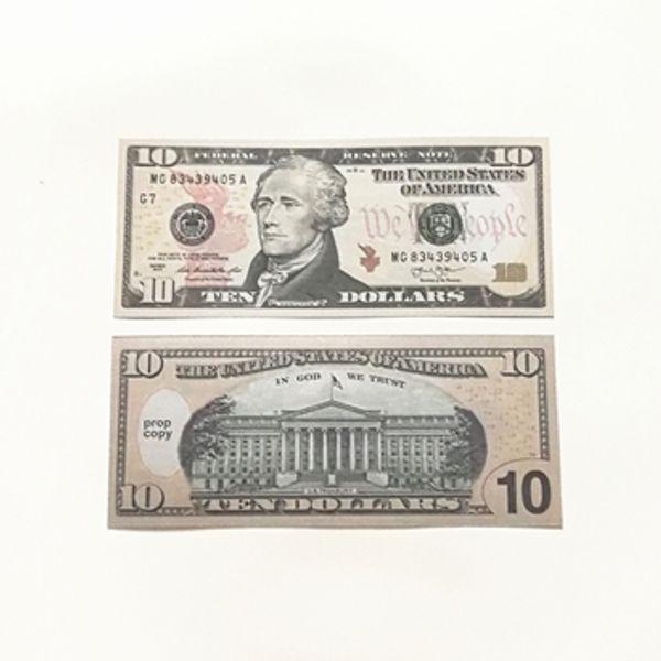 10 dólares 100pcs