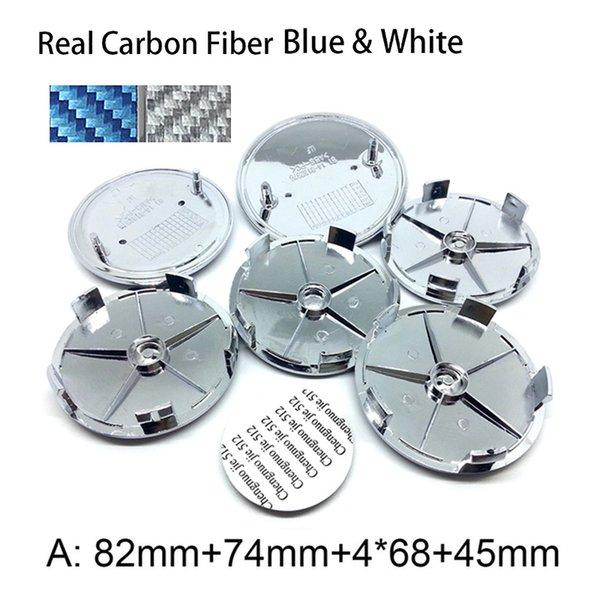Gerçek Karbon Mavi A