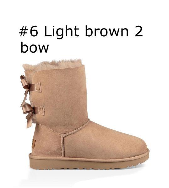 6 Light brown 2 bow