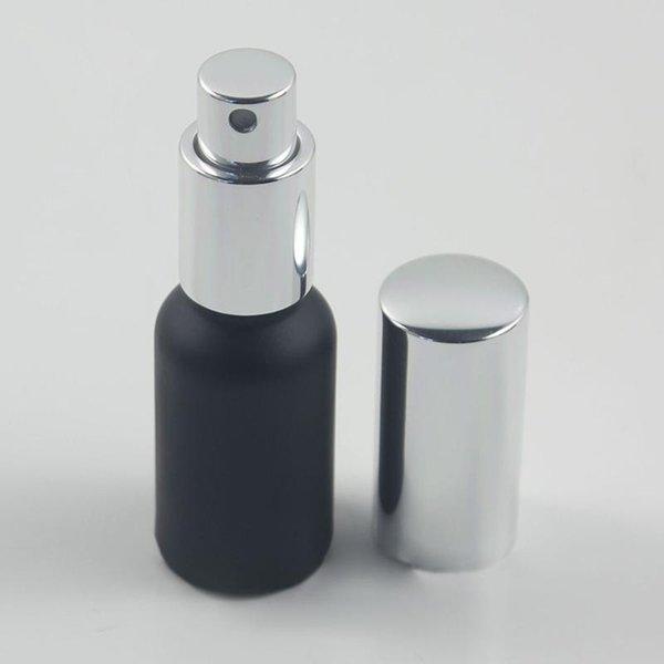 30ml Noir givré Vaporiser verre