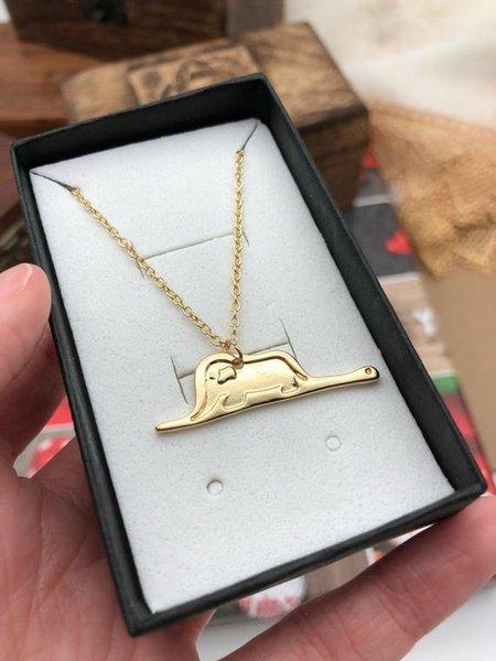 стиль 1 ожерелье золота