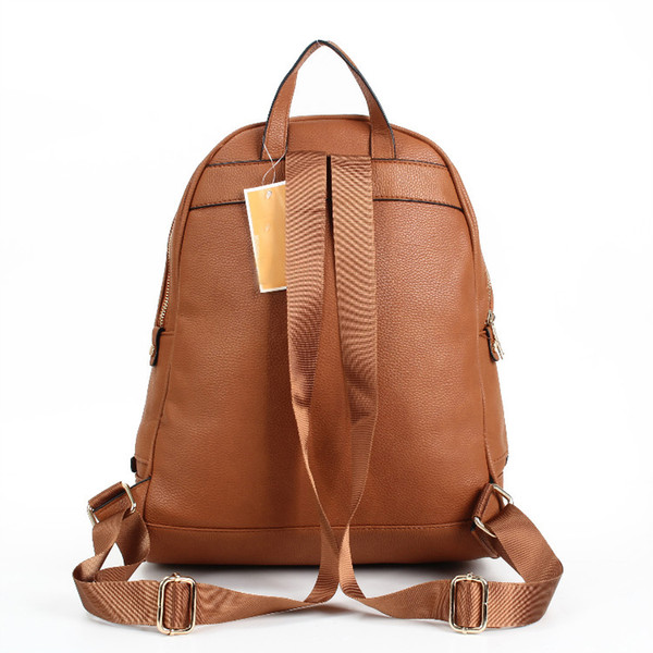 best selling 2020 new arrival Unisex PU High capacity Backpacks handbags European and American brand handbags hot shoulder bag handbag