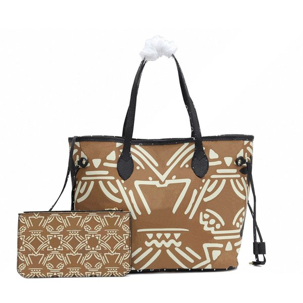 best selling New CRAFTY POCHETTE MéTIS Embossed Leather Extra-large Print Letters Braided Top Handle Graffiti Inspired Shoulder messenger Bag hot sale