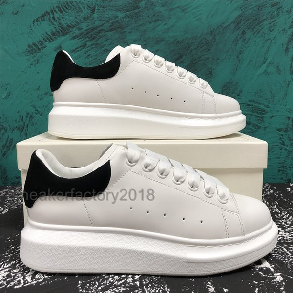 casual shoes women men sneakers matte leather dress shoes for men shoe trendy platform chaussures walking trainers, Black