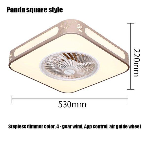 Panda Quadrat