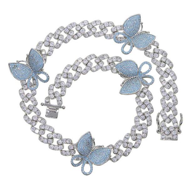 Gümüş Açık Mavi 41cm
