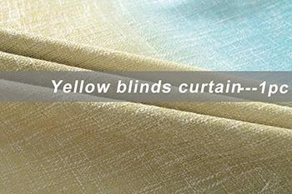 Yello Blinds Curtain