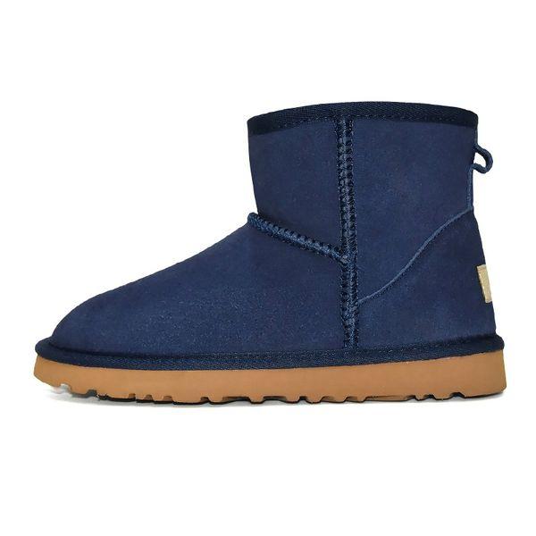 3 Classic Mini Boot - Blau
