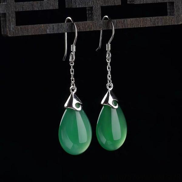 Yeşil Akik-925 Gümüş
