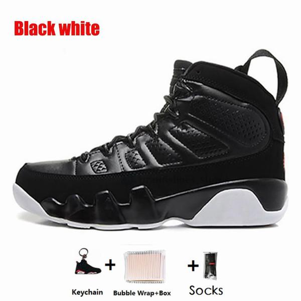 9s-Negro blanco