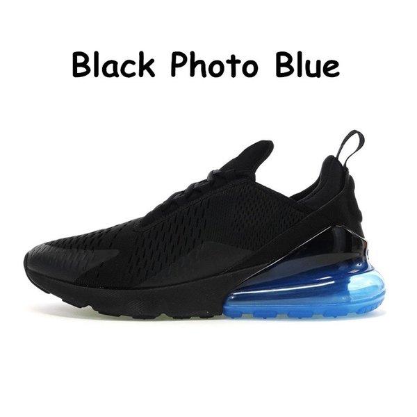 Schwarzes Foto-Blau